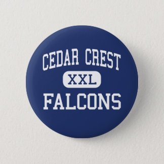 Cedar Crest - Falcons - High - Lebanon 2 Inch Round Button