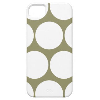 Cedar Green Large Polka Dot iPhone 5 Case