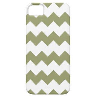 Cedar Green Modern Zig Zag iPhone 5 Case