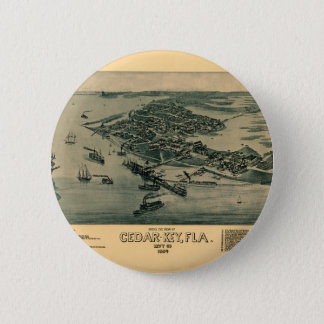 Cedar Key 2 Inch Round Button