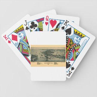 Cedar Key Bicycle Playing Cards