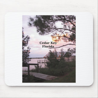 Cedar Key Florida Mouse Pad