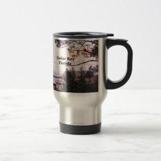 Cedar Key Florida Travel Mug