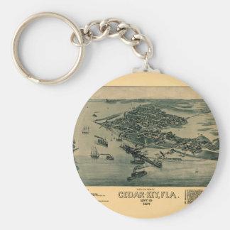 Cedar Key Keychain