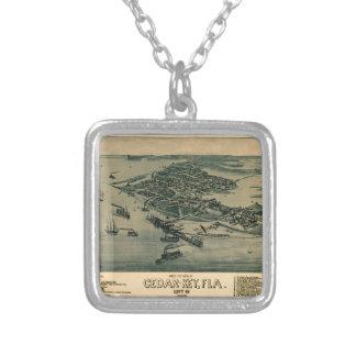 Cedar Key Silver Plated Necklace