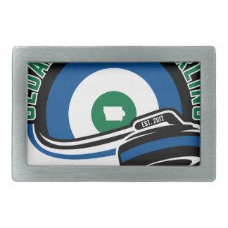 Cedar Rapids Curling Belt Buckle