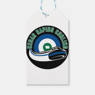 Cedar Rapids Curling Gift Tags
