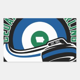 Cedar Rapids Curling Sticker