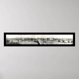 Cedar Rapids, IA Photo 1914 Poster
