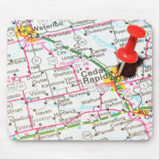 Cedar Rapids, Iowa Mouse Pad