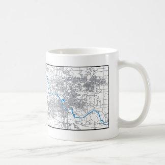 Cedar Rapids Map Mug