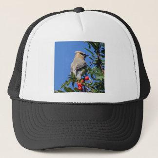 Cedar Waxwing Trucker Hat