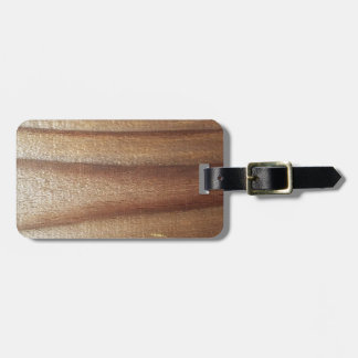 Cedar Wood Luggage Tag
