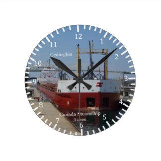 Cedarglen red clock
