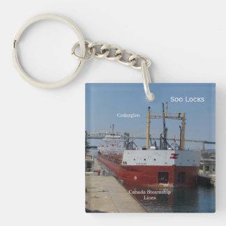 Cedarglen Soo Locks key chain