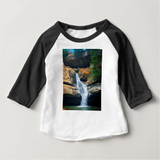 Ceder Falls, Hocking Hills Ohio Baby T-Shirt
