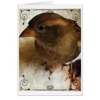 CeeCee the Sparrow Card
