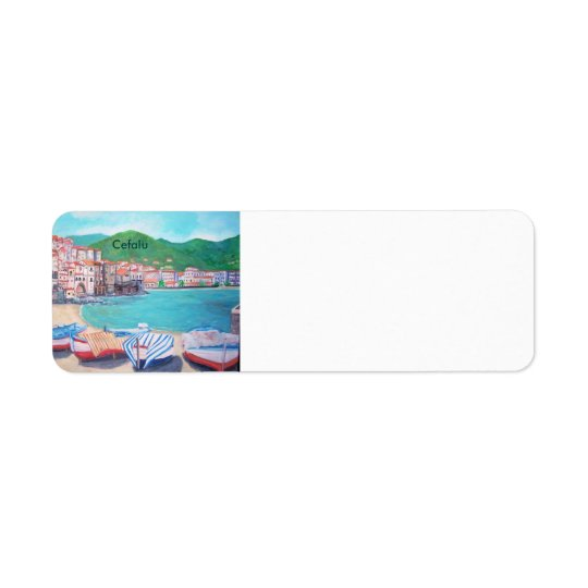 Cefalu Beach - Labels