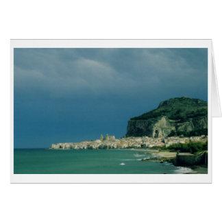Cefalu, Sicily, Italy Card