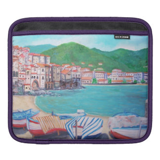 Cefalu' Village -  iPad pad Horizontal iPad Sleeve