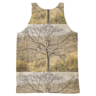 Ceiba Tree at Dry Forest Guayas District - Ecuador All-Over-Print Tank Top