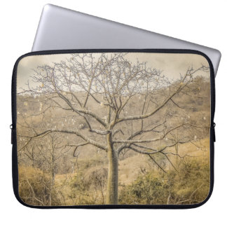 Ceiba Tree at Dry Forest Guayas District - Ecuador Laptop Sleeve