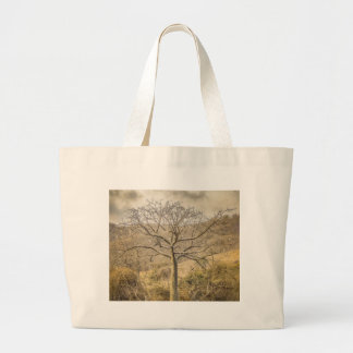 Ceiba Tree at Forest Guayas Ecuador Large Tote Bag