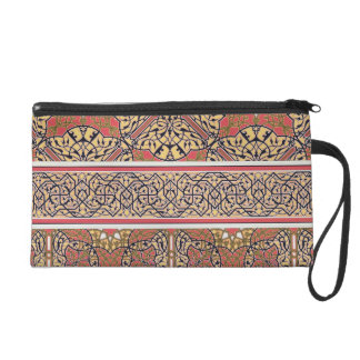 Ceiling arabesques from the Mosque of El-Bordeyny, Wristlet Purse