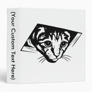 Ceiling Cat Vinyl Binder