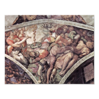 Ceiling Fresco For The Story Of Creation In The Si Personalized Announcements