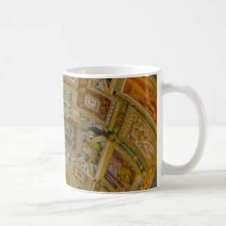 Ceiling in the Vatican Museum in Rome Italy Coffee Mug