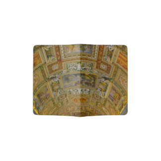 Ceiling in the Vatican Museum in Rome Italy Passport Holder