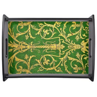 Ceiling Pattern Serving Tray