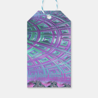 Ceiling Stare Fractal Gift Tags