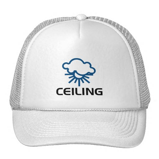 Ceiling - Weather Sun & Clouds Hats