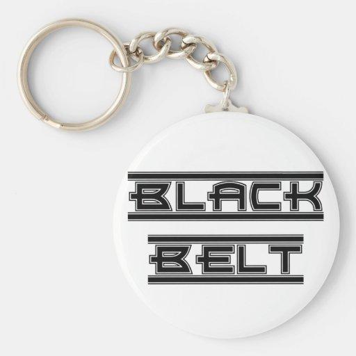Ceinture noire Keychain d'arts martiaux