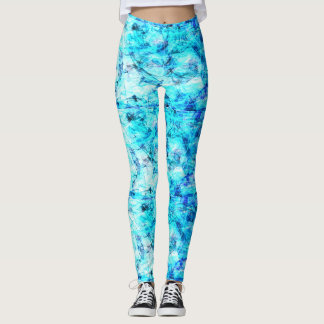 celadon blue plus around leggings