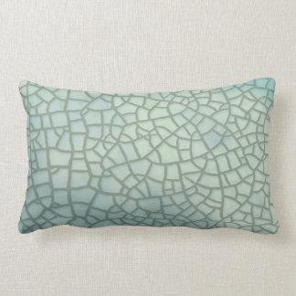 Celadon Crackle Glaze Lumbar Pillow