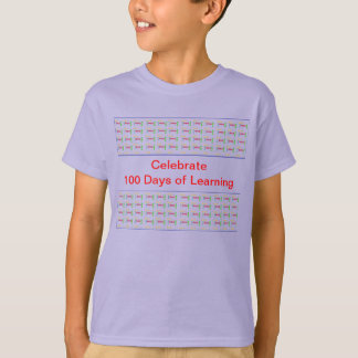 Celebrate 100 Days Of Learning STUDENT T-Shirt