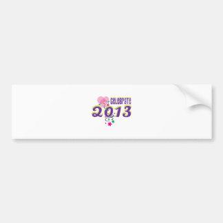 Celebrate 2013 bumper sticker