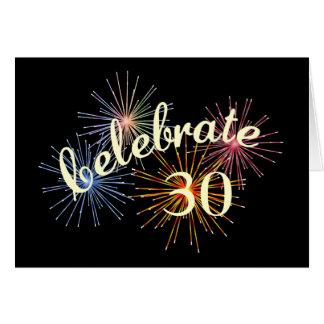 Celebrate a 30th Anniversary Card