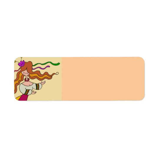 Celebrate and Dance Return Address Label
