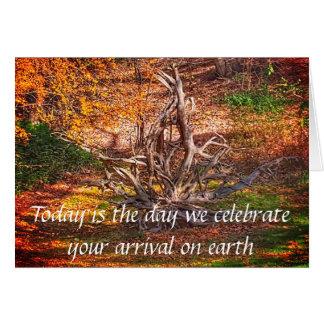 Celebrate Arrival Birthday Card