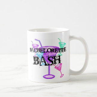 Celebrate Bachelorette Bash Basic White Mug