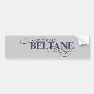 Celebrate Beltane Bumper Sticker
