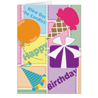 Celebrate! - Birthday Card