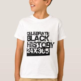 CELEBRATE BLACK HISTORY 24x365 Tshirts