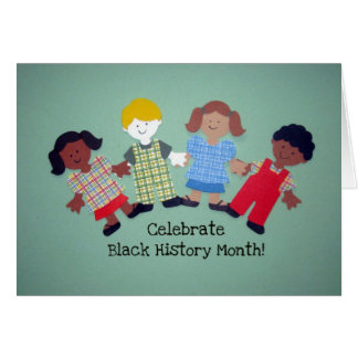 Celebrate Black History Month! #1 Card