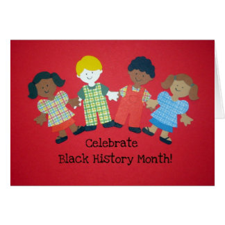 Celebrate Black History Month Card