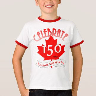Celebrate Canada 150 Years T-Shirt